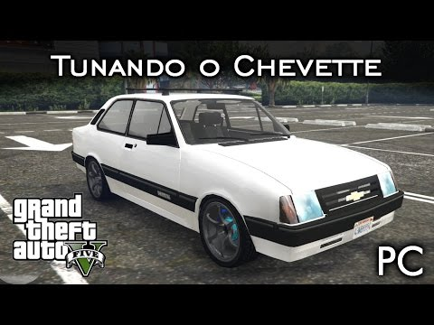 Tunando o Chevette - Virou O'Death! 💀 MOD | GTA V - PC [PT-BR]