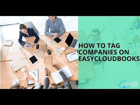 How to Tag Companies on easycloudbooks ?