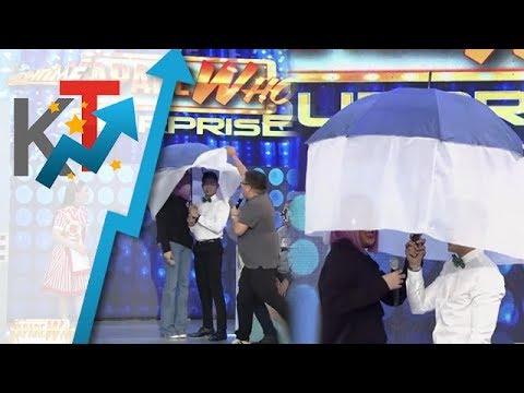 Vice Ganda at Ion nagtago sa ilalim ng payong PART 2 😍😍😍