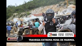 PASION POR LAS MOTOS, TRAVESIA EXTREMA MINA DE MARMOL