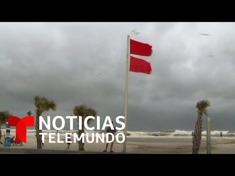 Huracán Sally se fortalece y alertan a Louisiana y Alabama | Noticias Telemundo