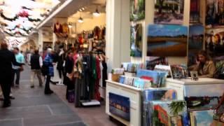 Достопримечательности г. Чарльстон США - Центральный рынок(Городской рынок, или центральный рынок, является историческим рыночным комплексом в центре города Чарльст..., 2014-02-17T03:53:01.000Z)