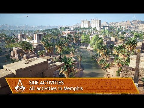 Assassin's Creed Origins - All side activities in Memphis