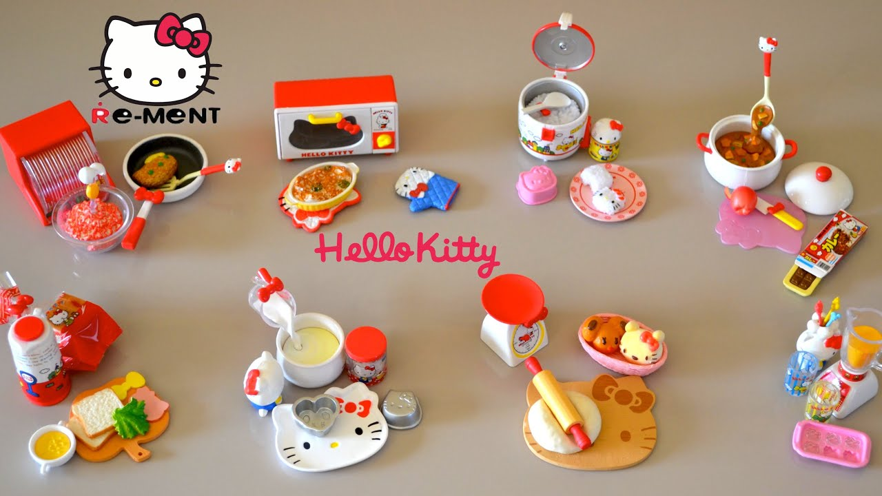 Hello Kitty Toy Food : Toy kitchen set food