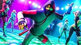 IKONIK SKIN ? *Official Trailer* (SAMSUNG S10+) + All Fortnite Dances