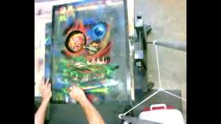 spray paint artist live stream co m0