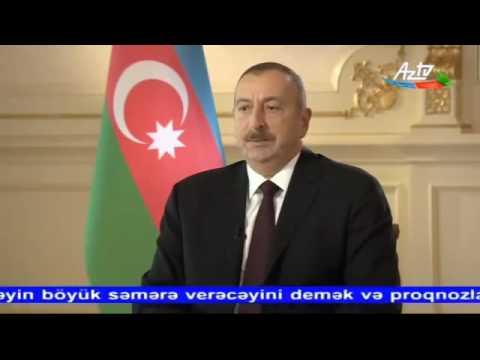 Ильхам Алиев про экономику Азербайджана