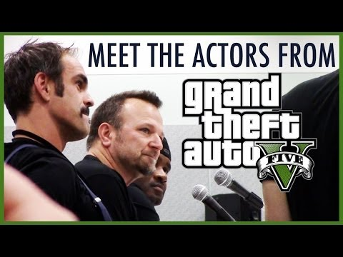 Meet The Actors From GTAV Comikaze Expo 2013