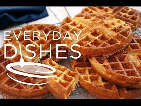 Overnight Einkorn Belgian Waffles