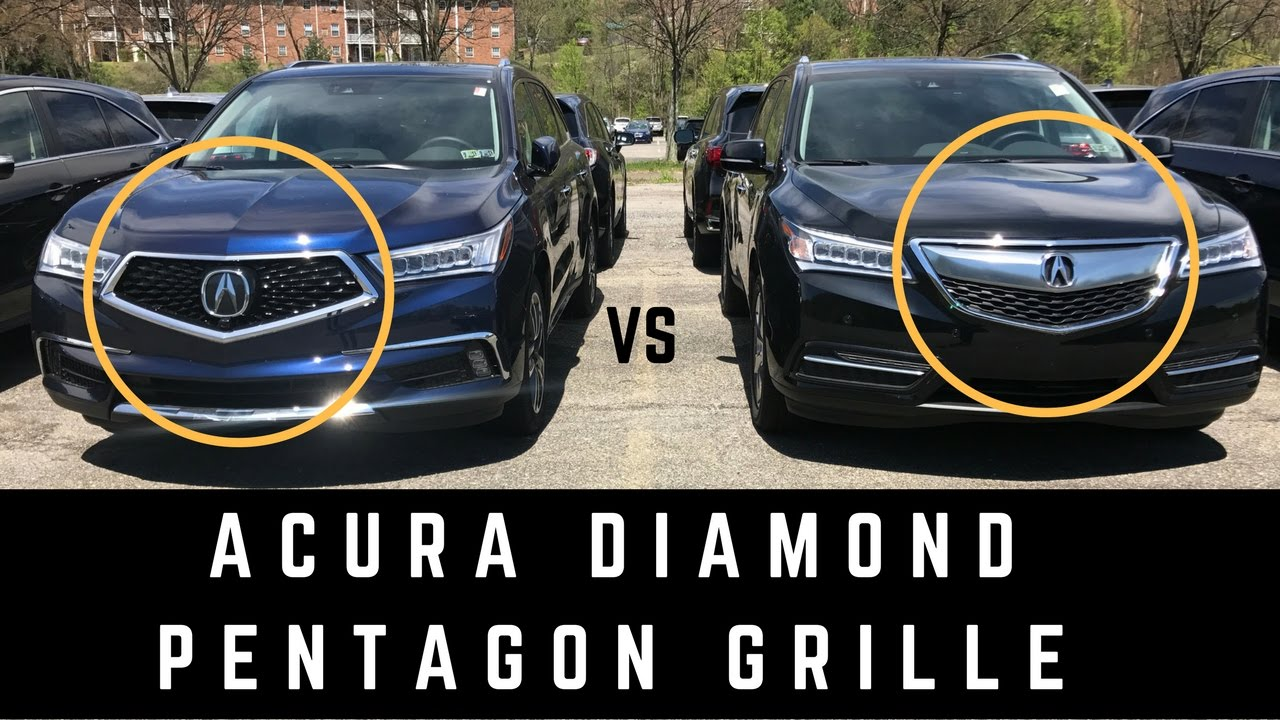 Acura Diamond Pentagon Grille Hot Or Not YouTube - Acura mdx front grill