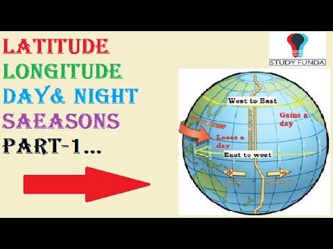 Latitude Longitude Season Day And Night Part 1