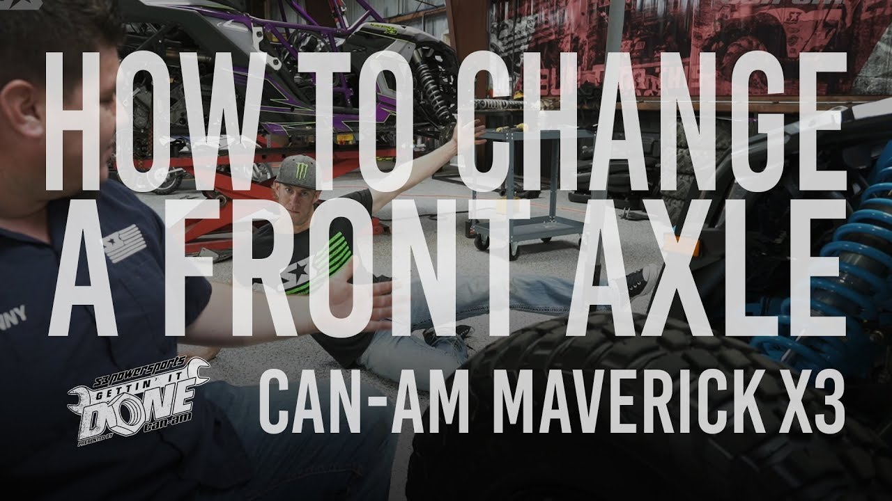 How To Change A Front Axle | Gettin' It Done