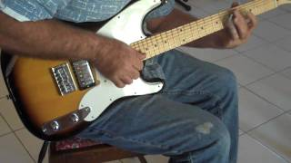 Fender Squier 51 guitar with Lollars and Mangan Strings.MP4