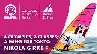 Nikola Girke: 4 Olympics, 3 Classes | Hempel World Cup Series Miami 2020