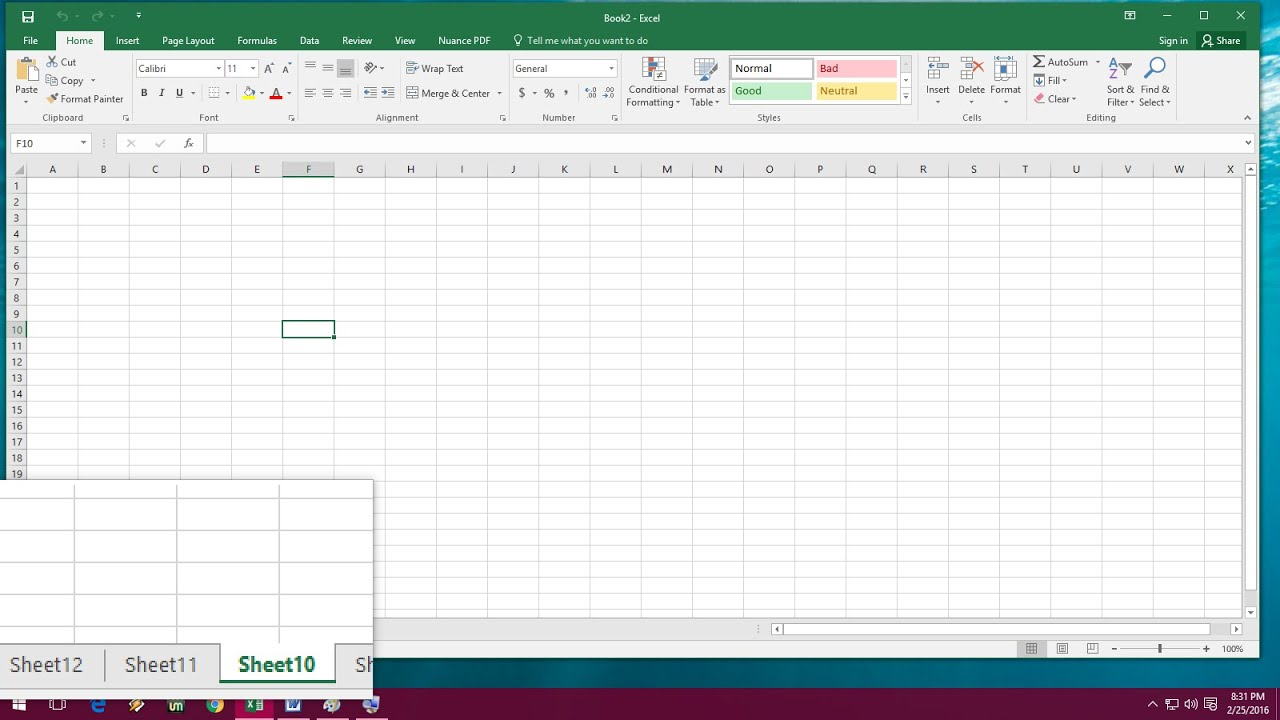 Shortcut Key To Insert Amp Delete Sheets In Ms Excel To