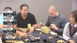 """Live at the Bike $20/$40 LHE - """"Animals"""" - Limit Holdem feat. D22-soso"""