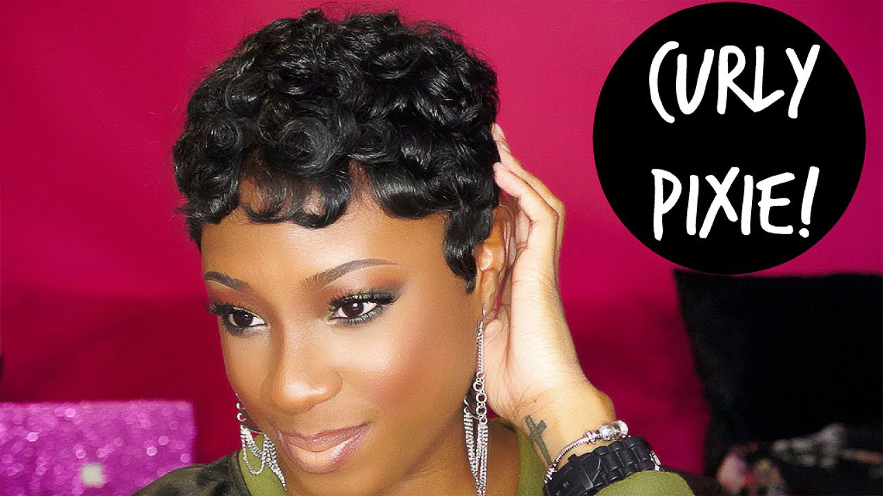 How To Achieve The Curly Pixie Hairstyle Lorissa Turner Youtube