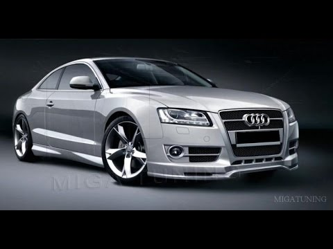 audi a5 tuning body kit youtube. Black Bedroom Furniture Sets. Home Design Ideas