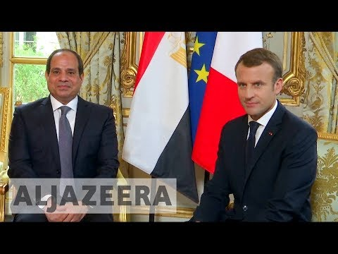 Macron avoids 'lecturing' Sisi on human rights issues