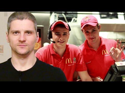 О работе в Макдональдсе
