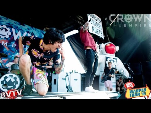 Crown The Empire Hologram Live Warped Tour