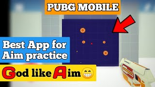Improve aim (God) in pubg mobile | Best app for aim practice | Moving Target Pubg mobile |  Hindi