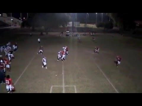 WR Tony Simmons 2009 highlights