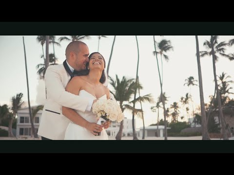 Jellyfish Restaurant Punta Cana Wedding Gina + Xavier Feature Film