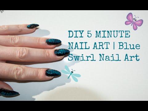 5 minute nail art