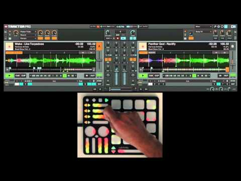 Software Templates: Getting Started with QuNeo and Traktor
