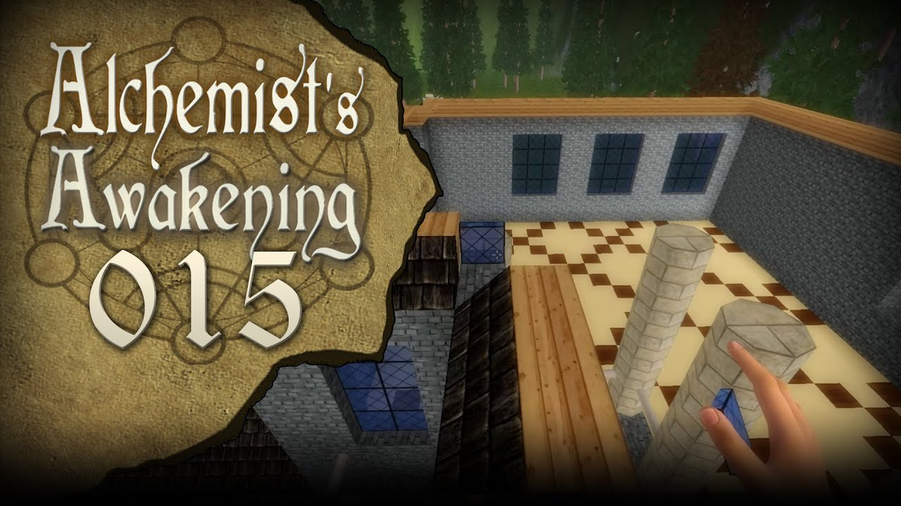 Alchemists Awakening 015 Dachstuhl Konstruktion Let S Play