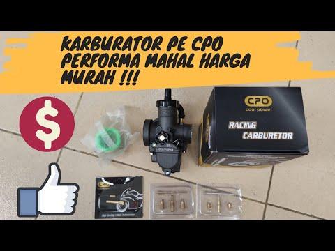 KARBURATOR PE CPO PERFORMA MAHAL HARGA MURAH,REVIEW & TEST