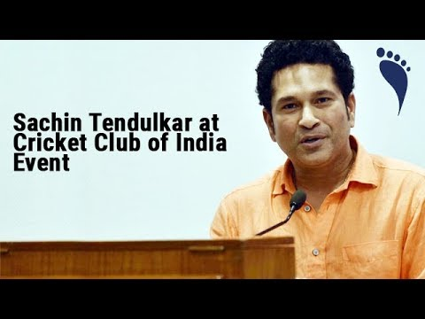 Sachin Tendulkar at Cricket Club of India Event | Footmarque | Agency