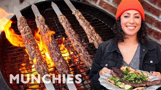 Farideh's Fire-Licked Beef Kababs