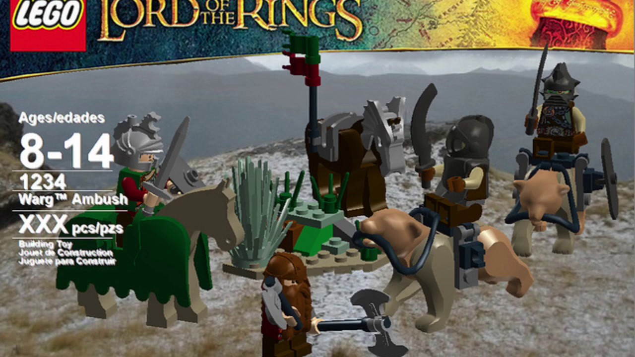 Lego Lord of the Rings wave 3 sets that never released
