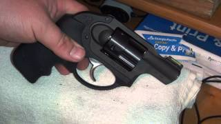 Ruger LCR HiViz Front Sight Installation (HD)