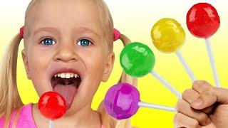 FINGER FAMILY SONG Belajar Warna | Lagu Anak-anak dari Katya dan Dima