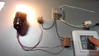 Беспроводной выключатель Noolite(Демонстрация работы беспроводного выключателя Noolite для обзора в блоге mp5.ru., 2012-11-17T10:27:17.000Z)