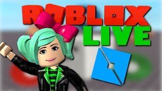I WANT TO PLAY YOUR GAMES! Roblox live with SallyGreenGamer