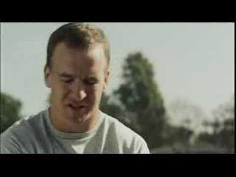 """Peyton Manning - Pep Talk - """"Stink At Golf"""" for BUD"""