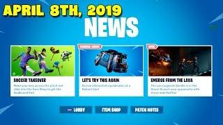 SOCCER SKINS IS BACK..! [ ITEM SHOP April 8th, 2019] Fortnite Battle Royale