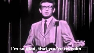 Rave On  - Buddy Holly and The Crickets