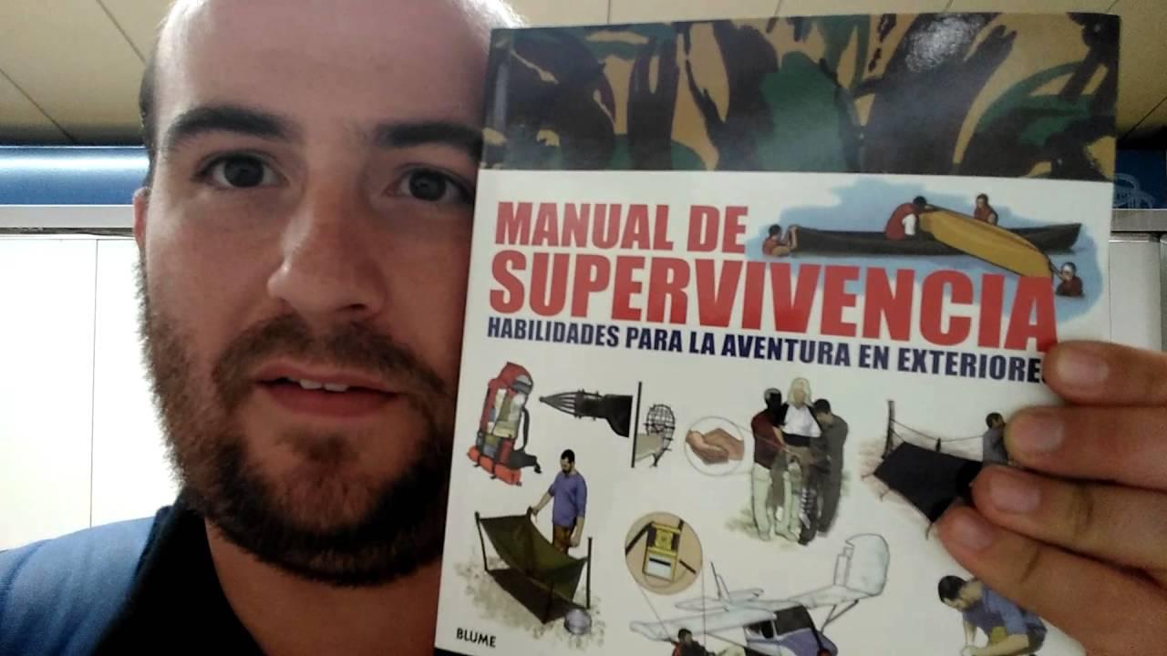 Me comprado un libro. MANUAL DE SUPERVIVENCIA - YouTube