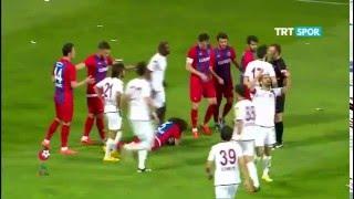 Kardemir Karabükspor 2-2 Vartaş Elazığspor PTT 1.LİG Maç Özeti 32.Hafta (30.04.2016)