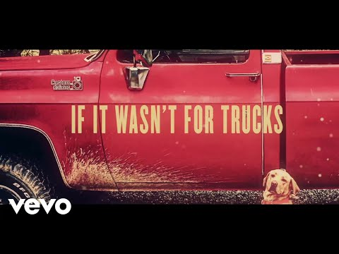Riley Green - If It Wasn't For Trucks (Lyric Video)