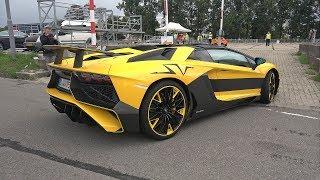 Lamborghini Aventador LP750 SV Roadster - Start up & Accelerations!