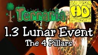 Terraria 1.3 Lunar (Celestial) Event - Pillars - (1.3 Bosses) (Solar Stardust Vortex Nebula)