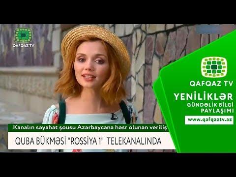 """QUBA BÜKMƏSİ """"ROSSİYA 1"""" TELEKANALINDA"""