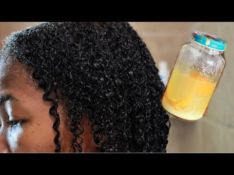 How To Use Rice Water On Low Porosity Hair For Great Results - NO AWEFUL SMELL😊