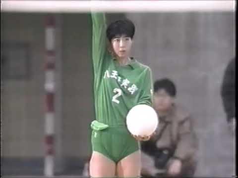 1993 春高バレー 東京予選 八王子実践vs順心女子1/2